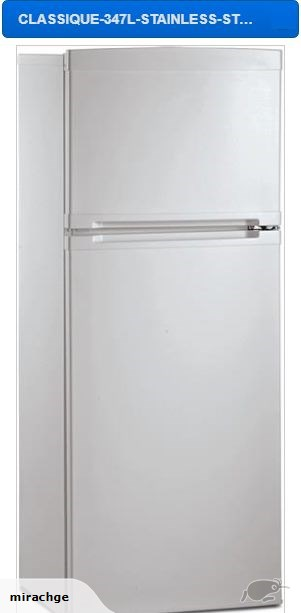 Classique Fridge Freezer Stainless Steel