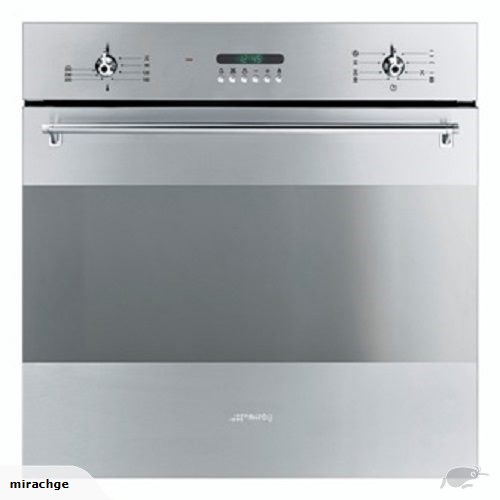 Smeg SMEG 60CM STAINLESS STEEL BUILT-IN OVEN - SA306X-8