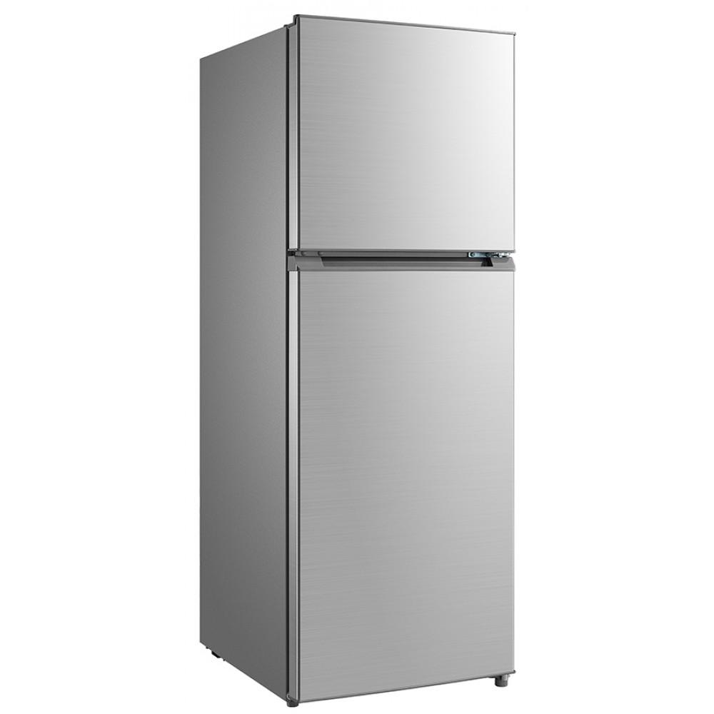 Fridge Freezer 239L Stainless Steel Top Freezer