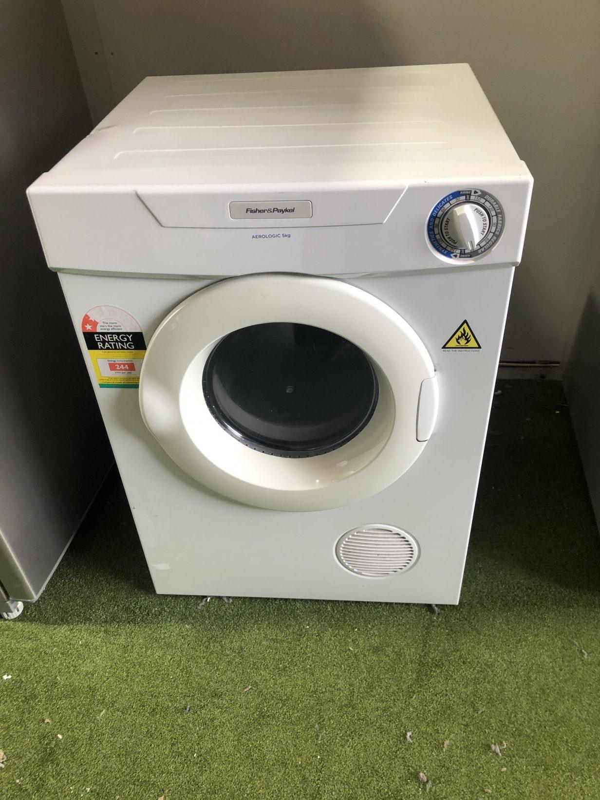 Fisher & Paykel Aerologic Dryer 5kg
